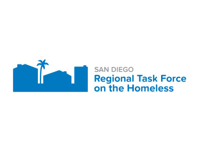 San Diego regional task force on the homeless logo