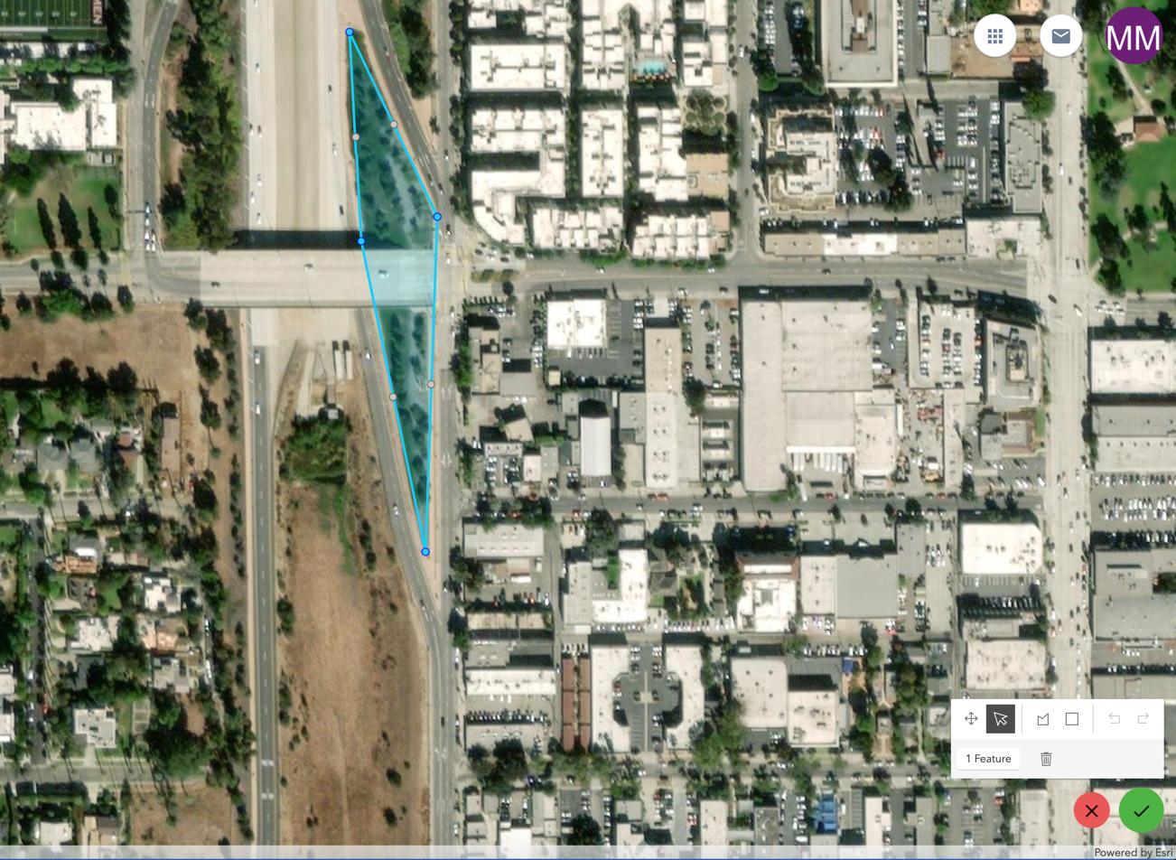 screenshot of google map earth view