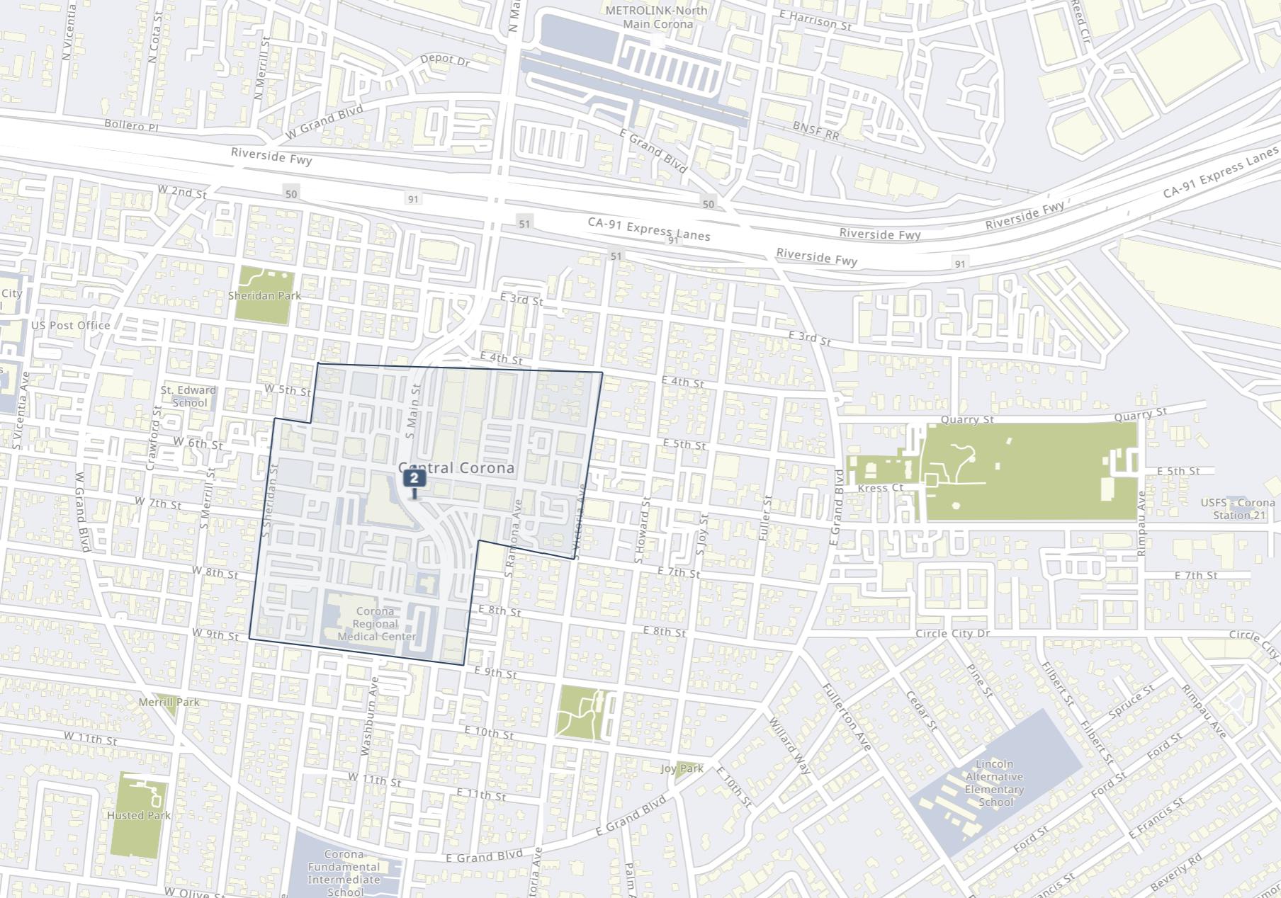 Screen Shot bird eye view of map illustration